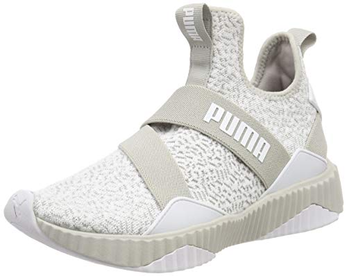Puma Defy Mid Anml Wn's, Scarpe da Fitness Donna, Grigio (Gray Violet White), 38 EU