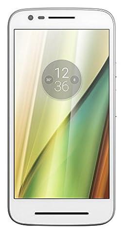 Motorola Moto E3 Lenovo Smartphone (12,7 cm (5 Zoll), 8 GB, Android, 4G LTE) weiß