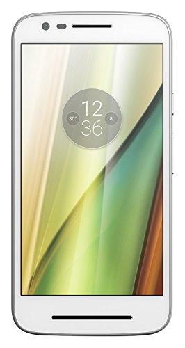 "Moto E 2016 - Smartphone libre de 5"" blanco"