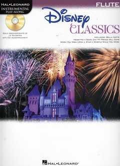 DISNEY CLASSICS - arrangiert für Querflöte - mit CD [Noten / Sheetmusic] aus der Reihe: INSTRUMENTAL PLAY ALONG