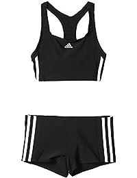 adidas Mädchen Essence Core 3 Stripes Bikini