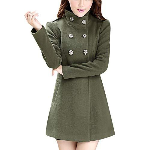 Abstand Heligen Frauen Winter Warm Rollkragen Mantel Faux Dicke Warme Dünne Jacke Oberbekleidung Mode Mantel