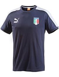 PUMA t-shirt t7 avec logo de l = 'équipe d'italie pour homme