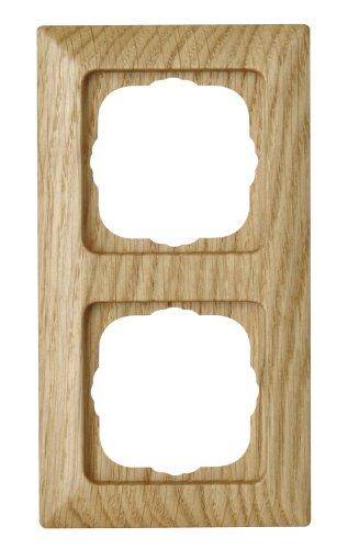 Nachlass Holz (Kopp  Abdeckrahmen 2-fach Milano eiche)