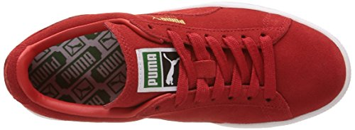 Puma Classic, Sneakers Basses femme Rouge (High Risk Red/White)