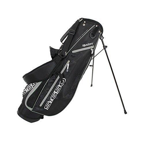 Masters - Golf S:650 Stand Tasche Schwarz/Grau - Leicht Flexible Technologie