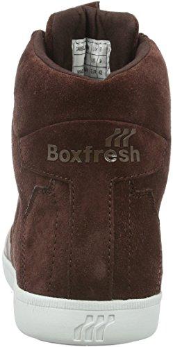 Boxfresh Herren Camberwell ICN Lea/Sde High-Top Braun (Chestnut)