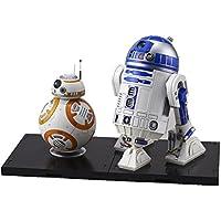 Star Wars BB-8 & R2-D2 1/12 scale plastic model by Bandai