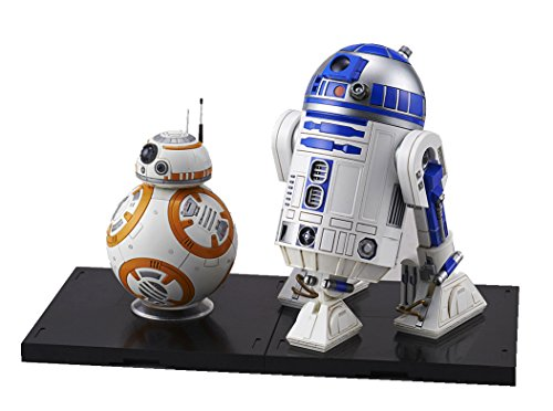 Star Wars BB-8 & R2-D2 1/12 scale plastic model Star Wars R2d2-spielzeug