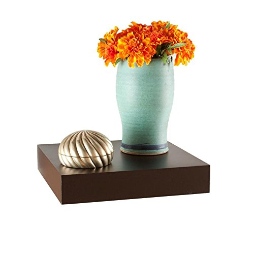 Brown Wooden Wall Shelf For Bedroom Decoration  available at amazon for Rs.675