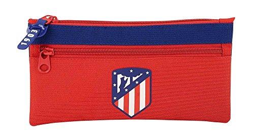 Estuche Atlético de Madrid Coraje Dos Cremalleras