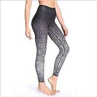 DECJ Las Mujeres de Poder Estiramiento Leggings, además de Pantalones de Yoga de tamaño Corriendo Medias,B,S
