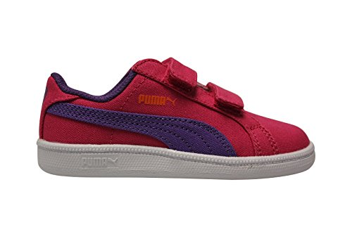 Puma BB Smash Fun Canvas Rose, Baskets Mode enfant