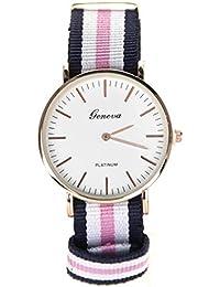 a9432e524fb1 Reloj Geneva NATO con diseño de Reloj