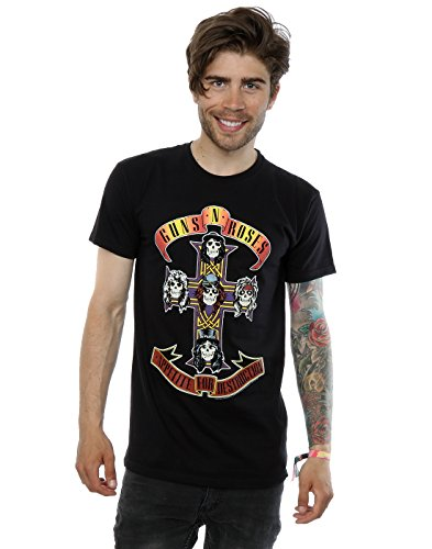 Official Guns N Roses Men's Appetite For Destruction T-Shirt - S to 3XL