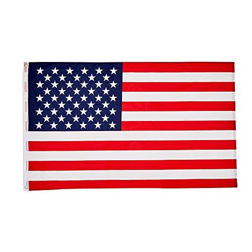 Vektenxi 1 STÜCKE Premium Amerikanische Flagge Klassische USA Flagge Stars and Stripes für Home Office School Desktop Decor