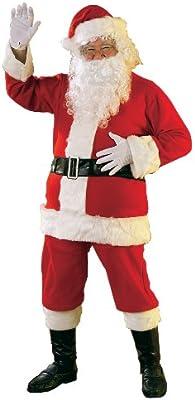 Rubie's 2365 - Disfraz de Papá Noel para hombre