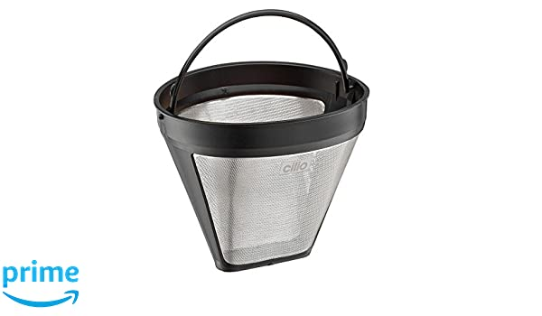 Cilio Coffee Filter Made from Stainless Steel Silver 12 x 12.5 x 9 cm