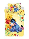 DP Disney Parure de lit pour bébé 100 x 135 cm, taie d'oreiller 40 x 60 cm 100%...