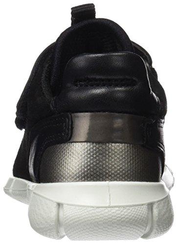Ecco Intrinsic Sneaker, Sneakers Basses Mixte Enfant Noir (Black/black)