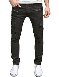 Seven Series Mens Designer Branded Skinny Fit Ripped Distressed Jeans