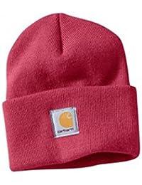 Carhartt Womens Acrylic Watch Cap - Crab Apple WA018 Womens Ski Hat Winter Hat CHWA018624