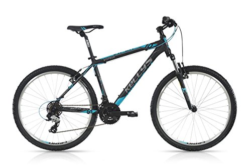 KELLYS VIPER 10 BLACK BLUE  COLOR NEGRO  TAMAñO 15 5