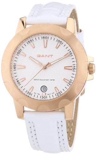 Gant Women's Quartz Watch with Black Dial Analogue Display Quartz Leather W10964