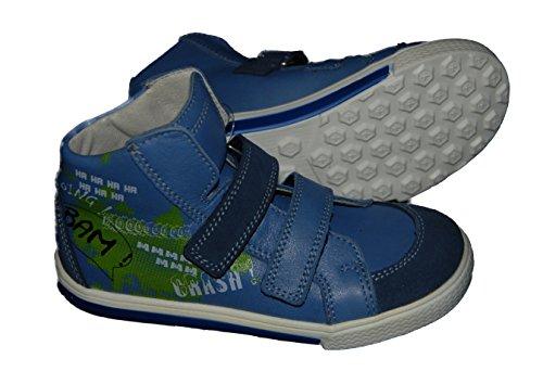 Helgas Modewelt, Chaussures montantes pour Garçon blau (Fortuna lake)