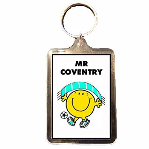 B Gifts Coventry City F.C - Mr Football Keyring