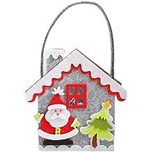 CAOLATOR Bolsos de Regalo de Navidad Bolsa Para Niños Almacenamiento de Dulces de Navidad del Árbol