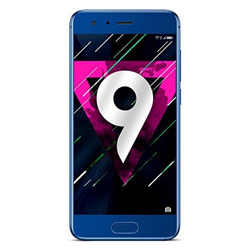 Honor 9 Smartphone portable débloqué 4G (Ecran: 5,15 pouces - 64 Go - Double Nano-SIM - Android) Bleu saphir