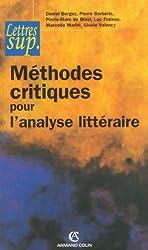 Méthodes critiques pour l'analyse littéraire (Hors collection)