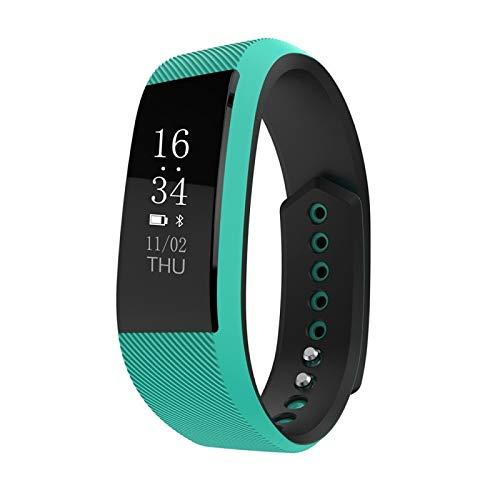 NBWE Advanced Fitness Tracker, Fitnessuhr mit Blutdruckuhr Pulsmesser Smart Watch IP68 wasserdichte Schrittzähleruhr
