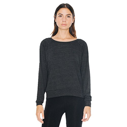 american-apparel-damen-sweatshirt-gr-s-tri-black