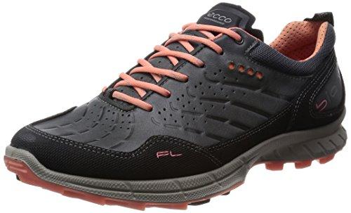 Ecco Ecco Biom Trail Fl, Chaussures Multisport Outdoor femme Gris (NOIR/OMBRE SOMBRE/CORAIL 58929)