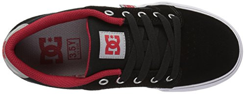 DC Shoes  Anvil,  Sneaker Ragazzo Black/Red/Grey