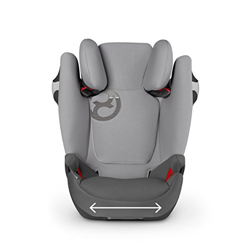 Cybex Gold Solution M-fix, Autositz Gruppe 2/3 (15-36 kg), Kollektion 2017, stardust black, mit Isofix
