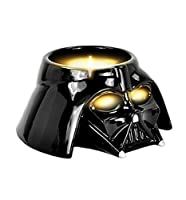 - Star Wars Darth Vader Tealight Candle Holder- Black ceramic tea light holder- Shaped like Star Wars villain Darth Vader- Presented in a decorative box- Tealights not included- 100% official merchandise. If you like you home on the dark side...