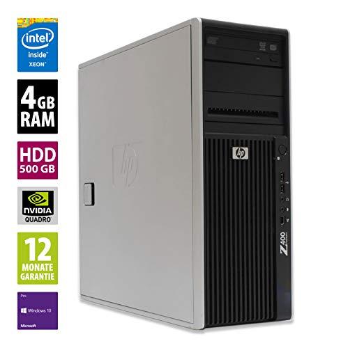 MT | Workstation | Intel Xeon W3520 @ 2,67 GHz | 4GB DDR3 RAM | 500GB HDD | DVD-Laufwerk | Nvidia Quadro 600 | Windows 10 Pro (Zertifiziert und Generalüberholt) ()