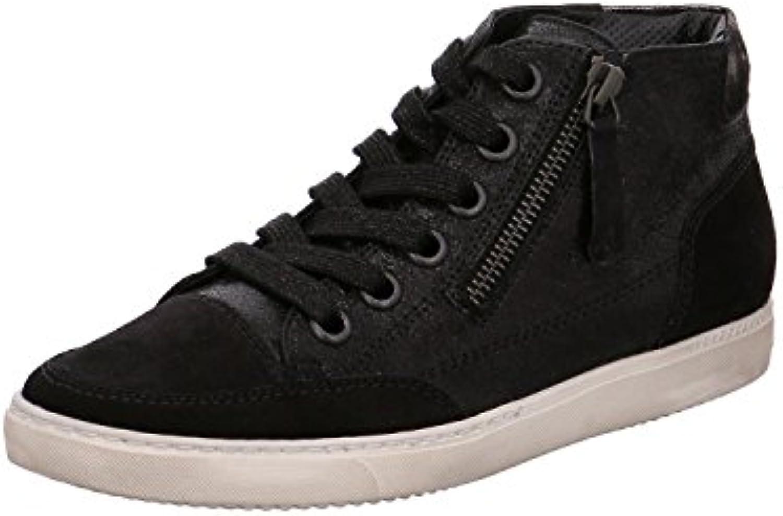 Paul Green Damen Sneaker 4242218 Schwarz 137523