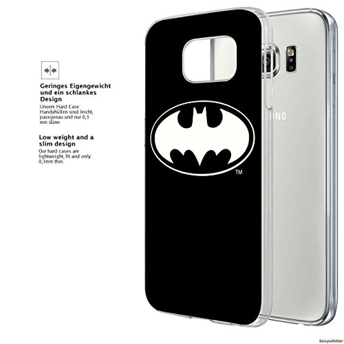 "finoo | Samsung Galaxy A5 2016 Hard Case Handy-Hülle ""Batman"" Motiv 