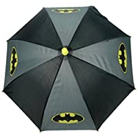 Batman Childs Stick Umbrella, 64 cm, 3.5 L, Black