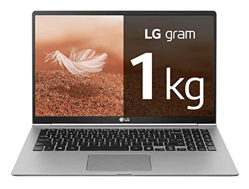 "LG gram 15Z990-V - Ordenador portátil ultrafino - 39.6 cm (15.6"") - FHD IPS (1 kg, autonomía 21.5 h, Intel i7 8ª generación, 8 GB RAM, 512 GB SSD, Windows 10 Home) Color Plata - Teclado QWERTY Español"