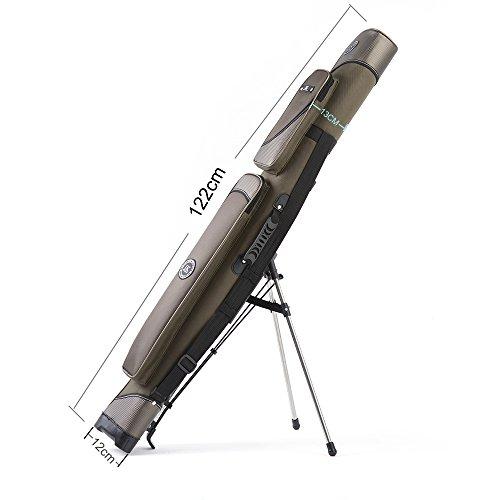 Große Rutenfutteral mit Teleskopbeinen