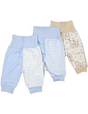 TumTam Unisex Baby Pumphose ohne Fuß Baumwolle 3er Set