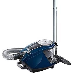 Bosch Electroménager BGS7RCL Ultimate Aspirateur Sans Sac, Classe A, 700 W, 3 liters, Noir, Bleu