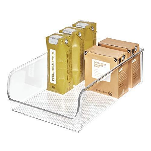 InterDesign Linus Aufbewahrungsbehälter, Kunststoff, durchsichtig