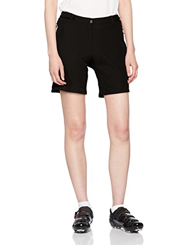 CMP Damen Rad Mountain Bike Shorts, Nero, 38