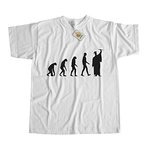 Graduation Gift Graduation Evolution Shirt Education Is Important Weiß